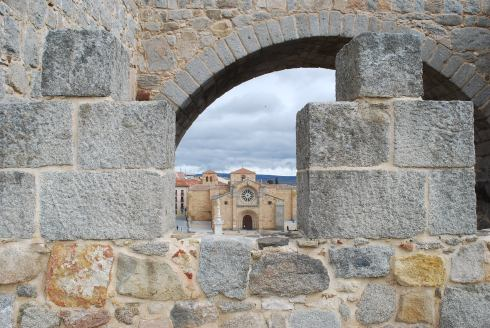 Avila-View from the city wall