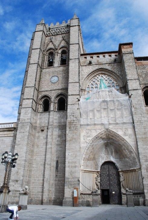 Avila-Cathedral